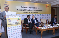 NPS Workshop conducted by PFRDA in coordination with FICCI at Mumbai on 18 Jan 2017